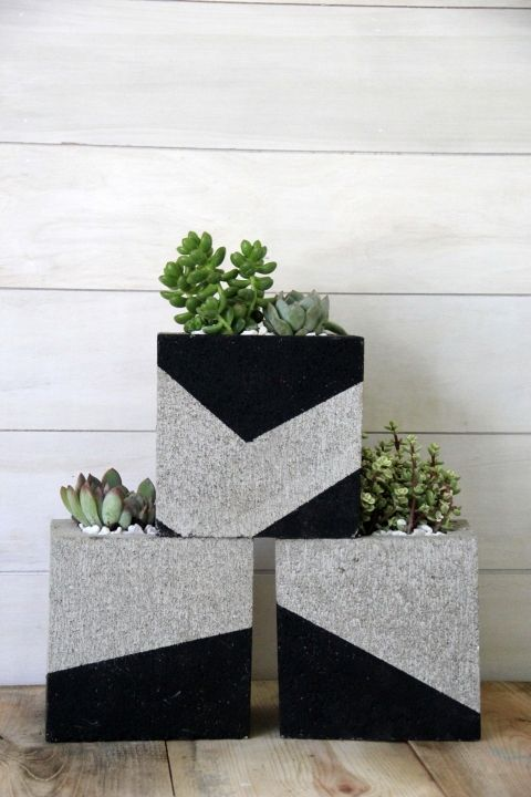 cinder blocks decorating ideas 13-min