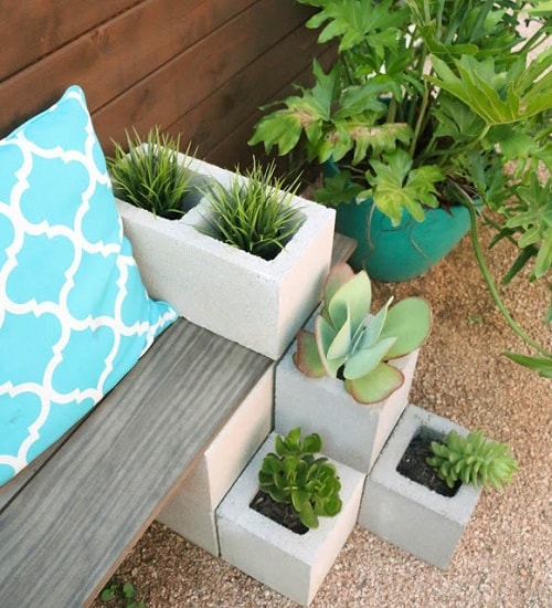 cinder blocks decorating ideas 15-min