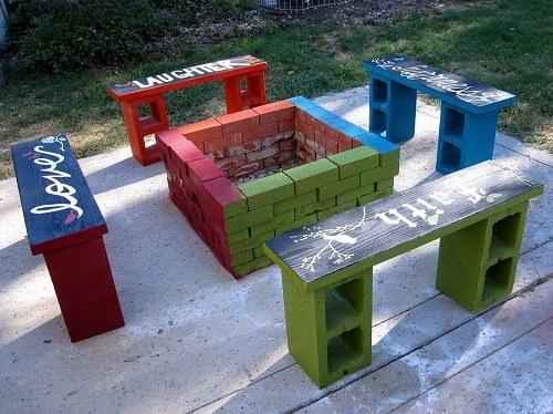 cinder blocks decorating ideas 16-min