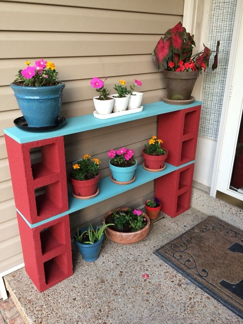 cinder blocks decorating ideas 22-min
