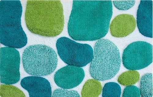 mint green bathroom rug 10-min
