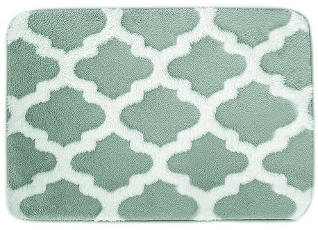 mint green bathroom rug 12-min