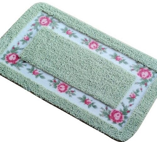 mint green bathroom rug 14-min