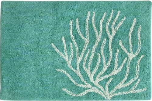 mint green bathroom rug 15-min