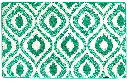 mint green bathroom rug 3-min