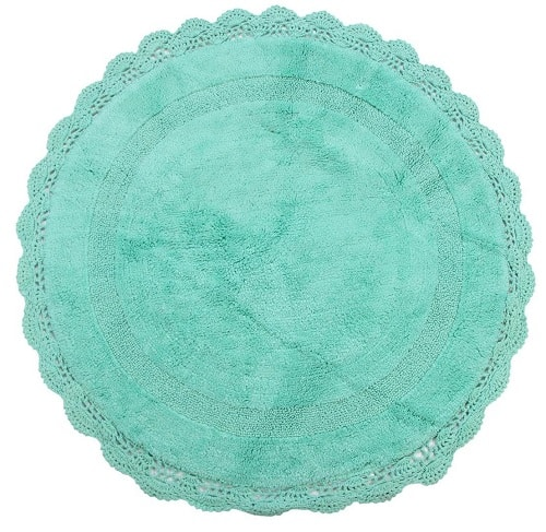 mint green bathroom rug 6-min
