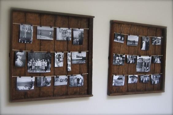 DIY Rustic Pallet Frame 19