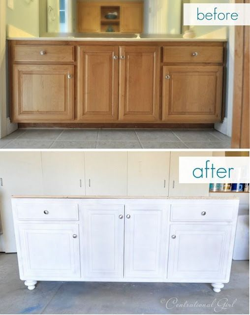 Painting Bathroom Vanity Before And After 12-min