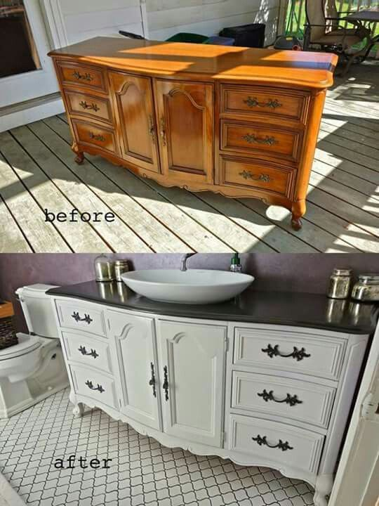 Painting Bathroom Vanity Before And After 13-min