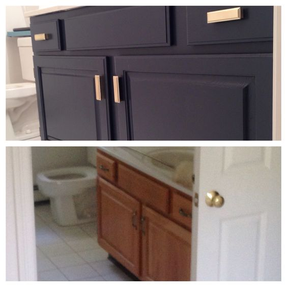 Painting Bathroom Vanity Before And After 21-min