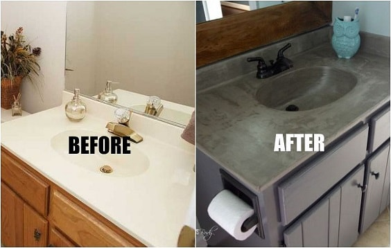 Painting Bathroom Vanity Before And After 22-min