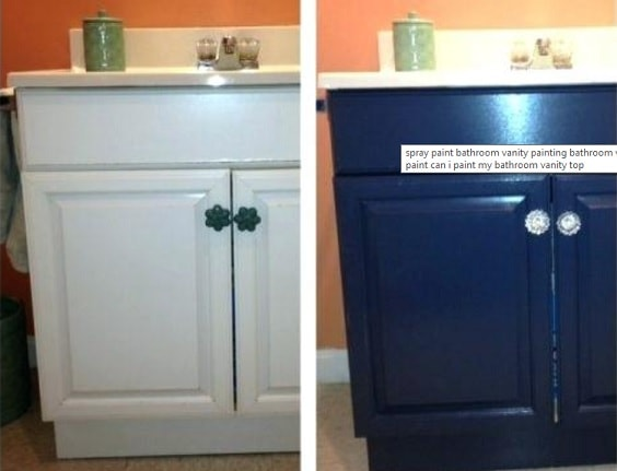 Painting Bathroom Vanity Before And After 24-min