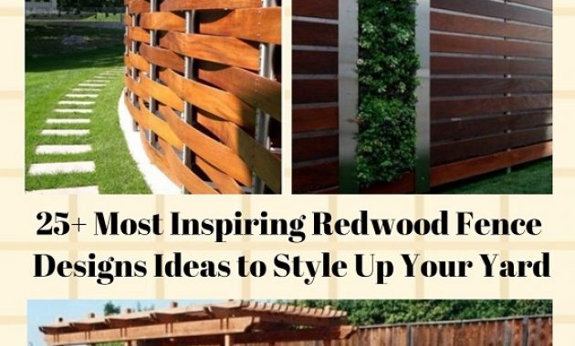 Redwood Fence Designs pinterest