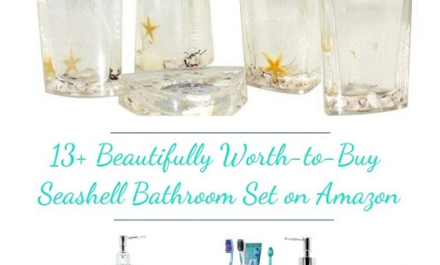 Seashell Bathroom Set pinterest