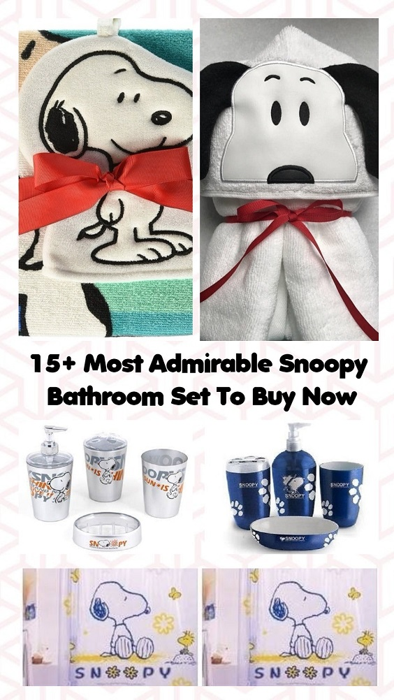 Snoopy Bathroom Set pinterest