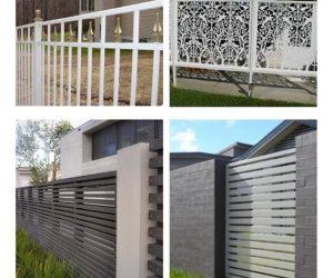 White Aluminum Fence Ideas pinteresr