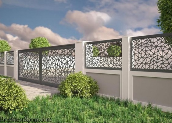 concrete fencing design ideas 16-min