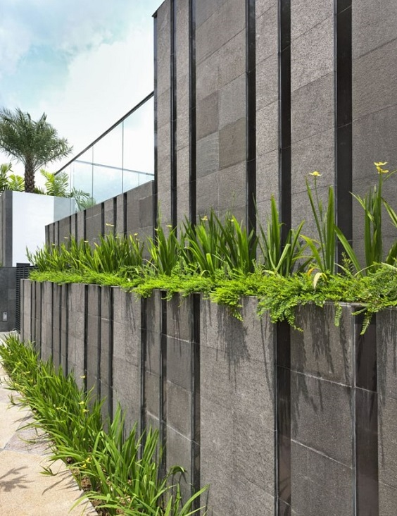 concrete fencing design ideas 17-min