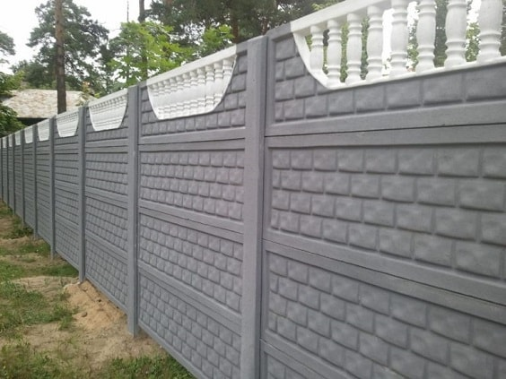 concrete fencing design ideas 25-min