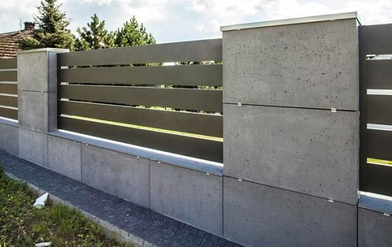 concrete fencing design ideas 8-min
