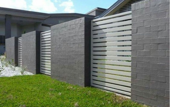 concrete fencing design ideas 9-min
