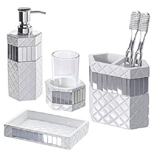 grey bathroom accessories 10-min