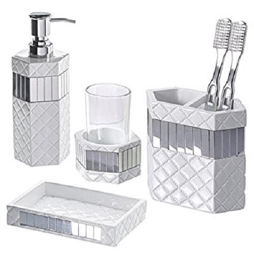 grey bathroom accessories 10-min