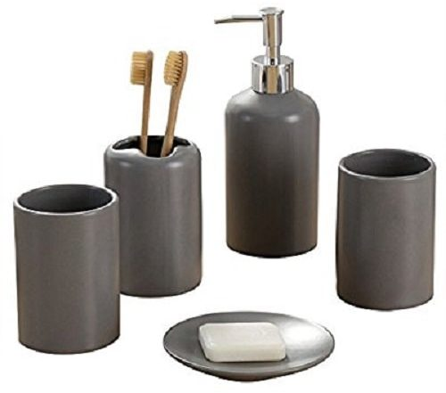 grey bathroom accessories 4-min