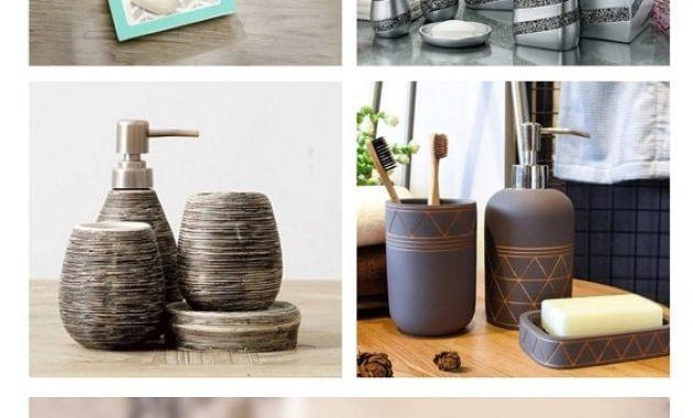 grey bathroom accessories pinterest-min