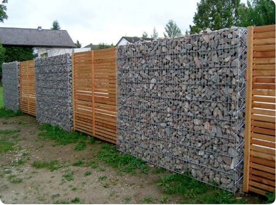 redwood fence designs ideas 18