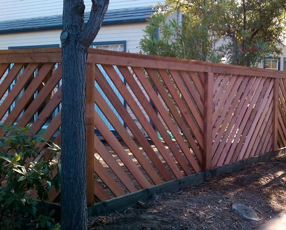 redwood fence designs ideas 23-min