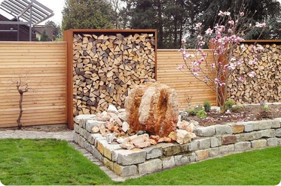 redwood fence designs ideas 24