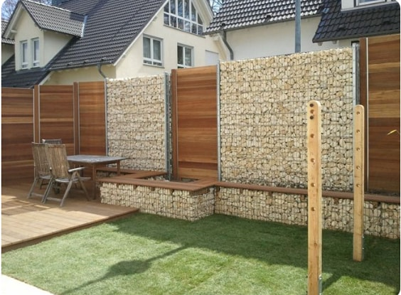 redwood fence designs ideas 25