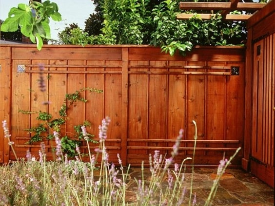 redwood fence designs ideas 8-min