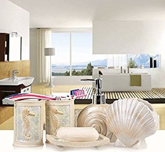 seashell bathroom set 3-min