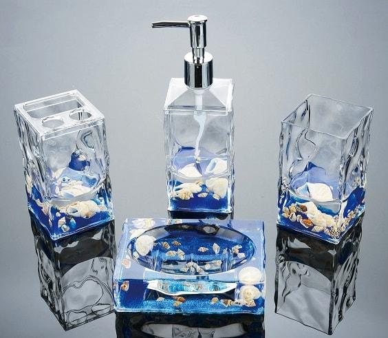 seashell bathroom set 5-min