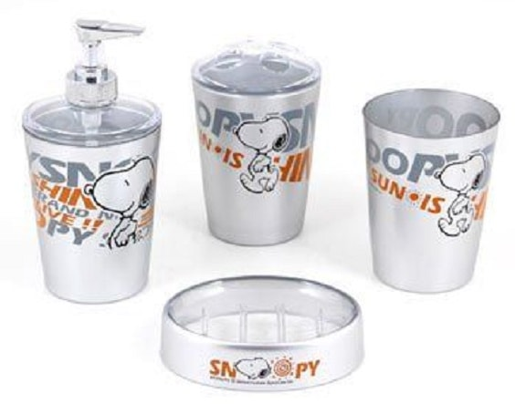 snoopy bathroom set 4-min