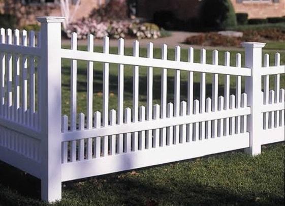 white aluminum fence ideas 20-min