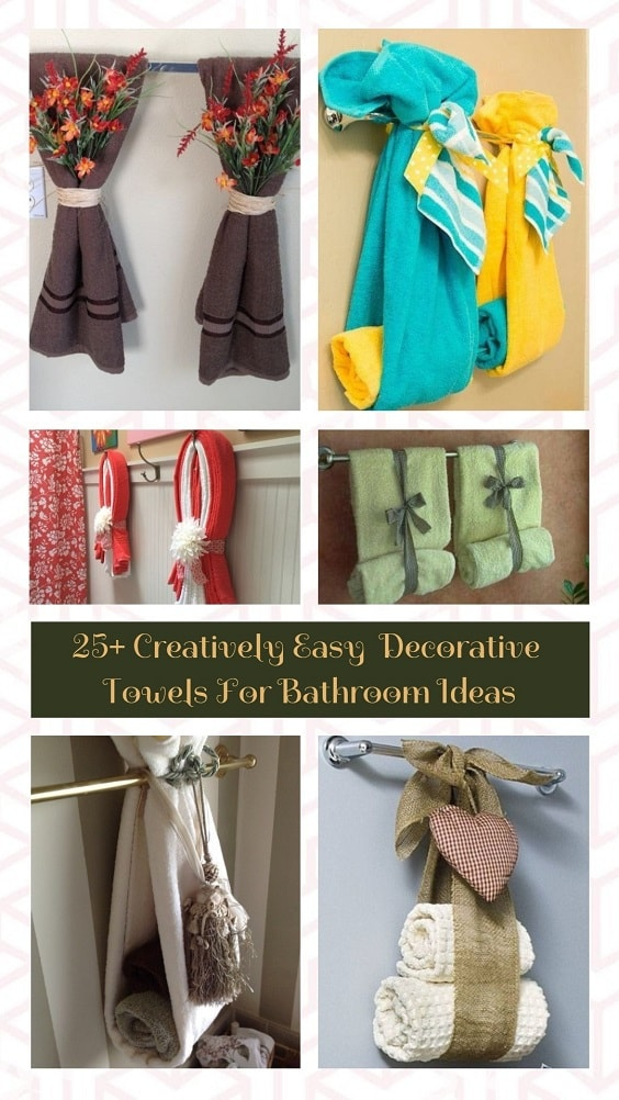 Decorative Towels For Bathroom Ideas pinterest-min