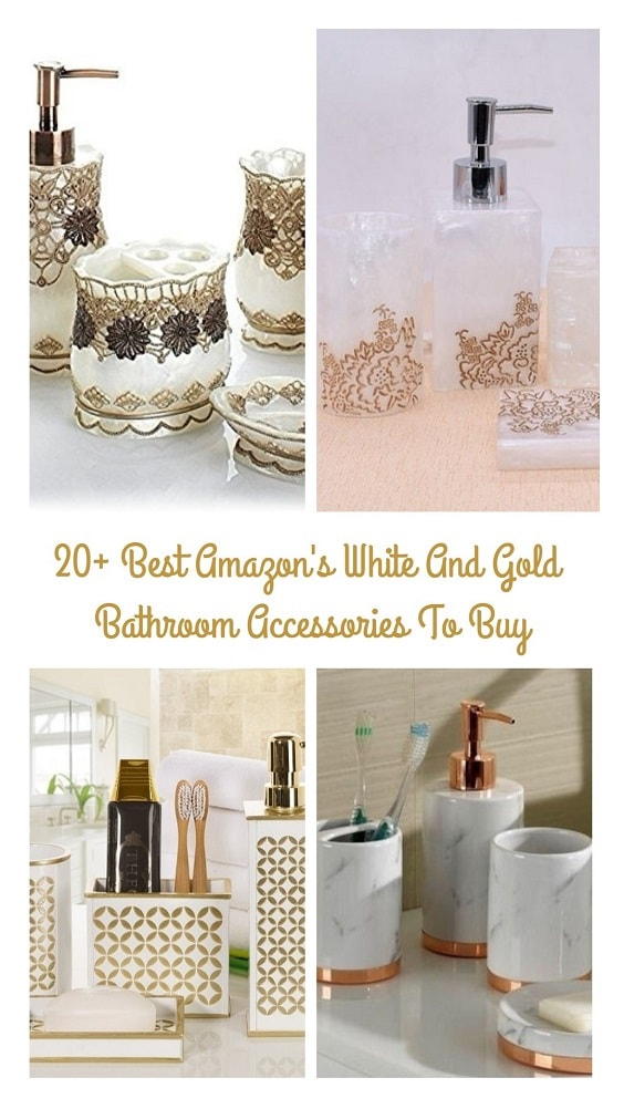 White And Gold Bathroom Accessories pinterest-min