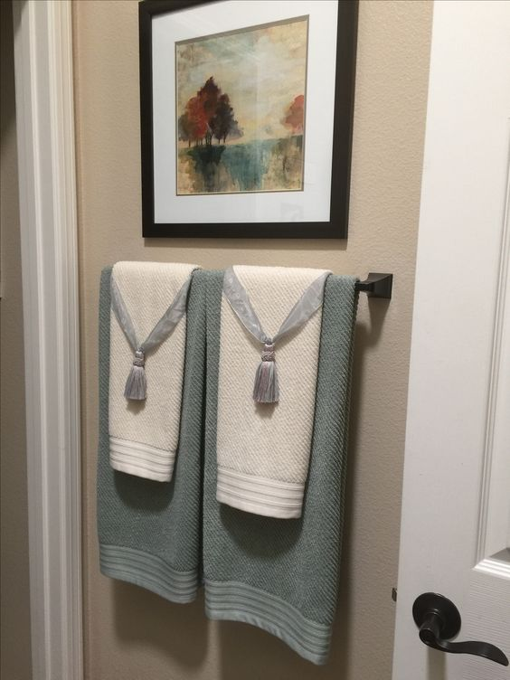 decorative towels for bathroom ideas 12-min