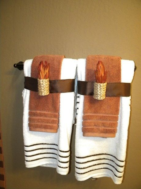 decorative towels for bathroom ideas 16a-min
