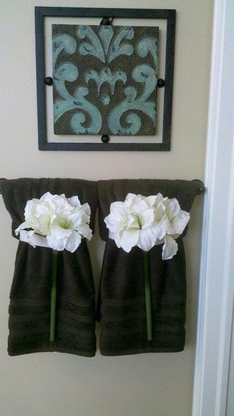 decorative towels for bathroom ideas 28-min