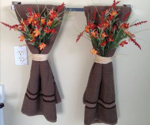 decorative towels for bathroom ideas 3-min