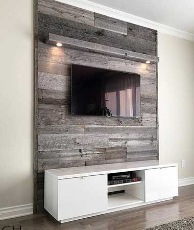 diy wood pallet tv console 12-min