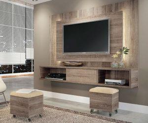 diy wood pallet tv console 5-min