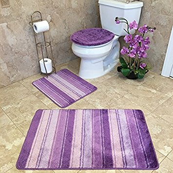 purple bathroom rug sets 2-min