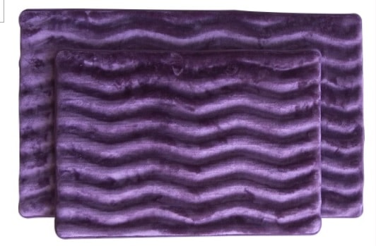 purple bathroom rug sets 3-min