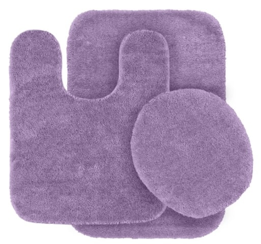 purple bathroom rug sets 4-min
