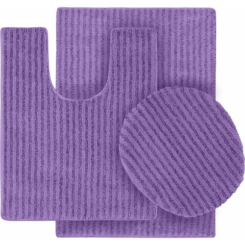 purple bathroom rug sets 5-min